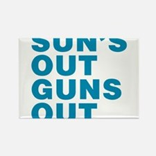 Suns Out Guns Out Magnets