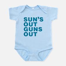 Suns Out Guns Out Body Suit