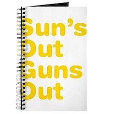 Suns Out Guns Out Journal