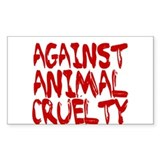 Animal testing Bumper Stickers
