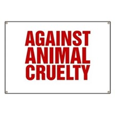Against Animal Cruelty Banner