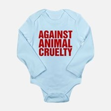 Against Animal Cruelty Body Suit