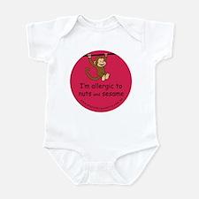 Nuts and sesame-allergy alert Infant Bodysuit