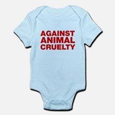 Against Animal Cruelty Body Suit
