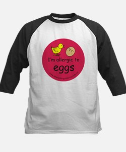 I'm allergic to eggs-red Tee