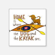 HOMEkayakDOG Sticker