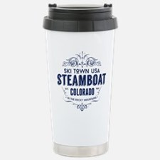 Steamboat Victorian Stainless Steel Travel Mug
