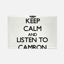 Keep Calm and Listen to Camron Magnets