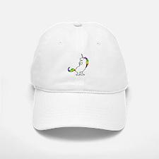 Cute Dinocorn (T-Rex Unicorn) Baseball Baseball Cap