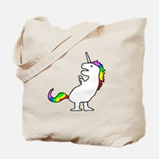 Cute Dinocorn (T-Rex Unicorn) Tote Bag