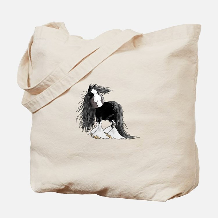 Cute Shire horse Tote Bag