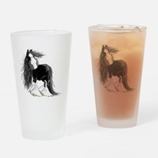 Cute Horse Drinking Glass