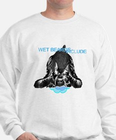 giant schnauzer wet beard included Sweatshirt