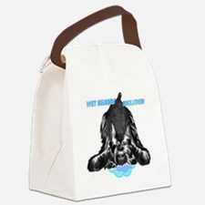 giant schnauzer wet beard include Canvas Lunch Bag