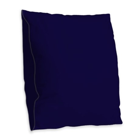 Solid Navy Blue Decorative Pillow : Navy Blue Solid Burlap Throw Pillow by Pillow_Planet