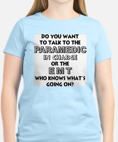 paramedic%20in%20charge T-Shirt