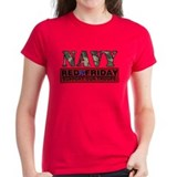 Navy red friday Women's Dark T-Shirt