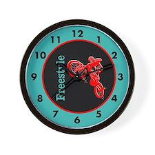 Freestyle Bike Wall Clock