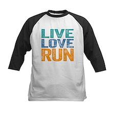 Live Love Run Baseball Jersey