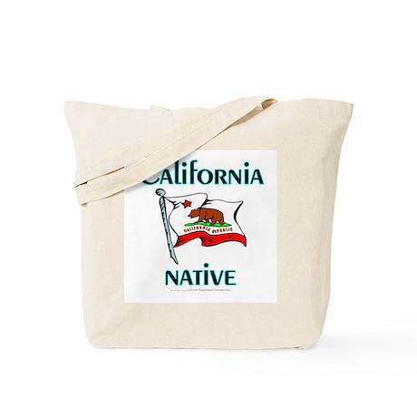 California native (canvas tote)