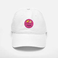 I'm allergic to eggs-pink Baseball Baseball Cap