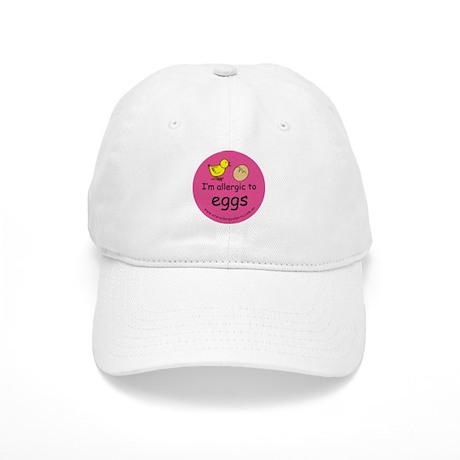 I'm allergic to eggs-pink Cap