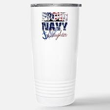 ProudNavyDaughter Travel Mug