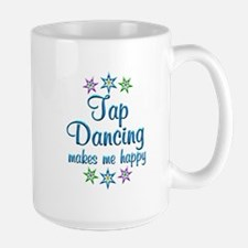Tap Dancing Happy Large Mug