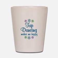 Tap Dancing Happy Shot Glass