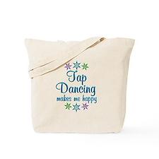 Tap Dancing Happy Tote Bag