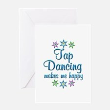 Tap Dancing Happy Greeting Card
