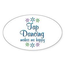 Tap Dancing Happy Decal