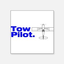 """Cute Towing Square Sticker 3"""" x 3"""""""