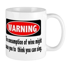 Wine Warning Mug