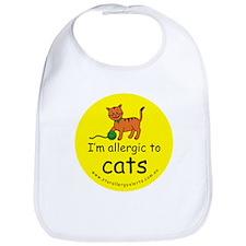 I'm allergic to cats Bib