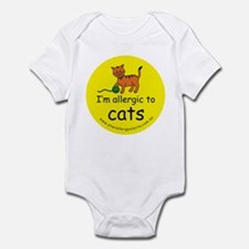 I'm allergic to cats Infant Bodysuit