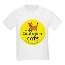 I'm allergic to cats T-Shirt