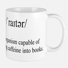 WRITER Small Mugs