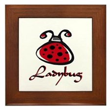 LADY1.png Framed Tile