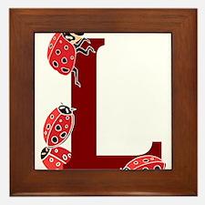 L.... ladybug Framed Tile