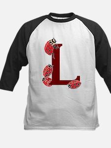 L.... ladybug Kids Baseball Jersey