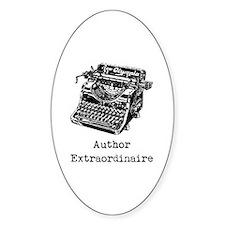 Author Extraordinaire Decal