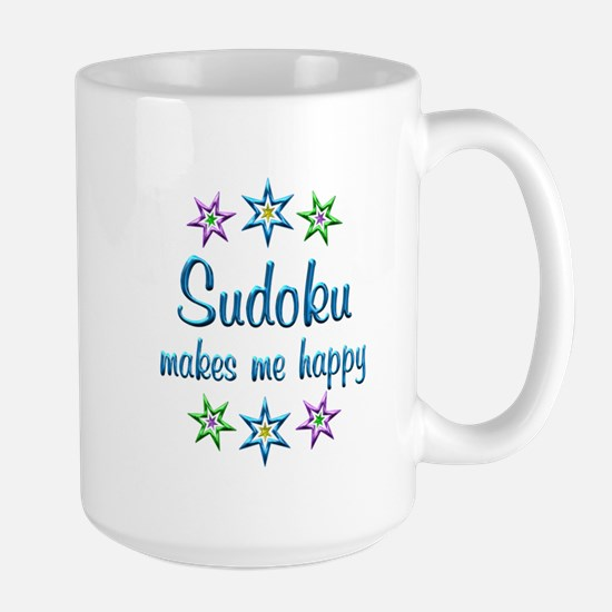 Sudoku Happy Large Mug