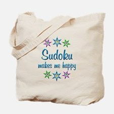 Sudoku Happy Tote Bag