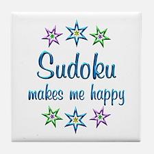 Sudoku Happy Tile Coaster