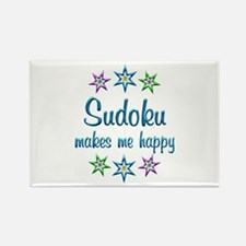 Sudoku Happy Rectangle Magnet
