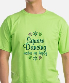 Square Dancing Happy T-Shirt