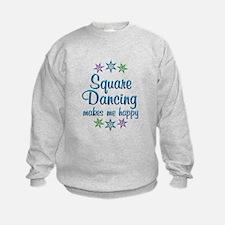 Square Dancing Happy Sweatshirt