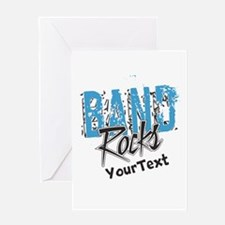 Customize BAND Rocks Greeting Cards