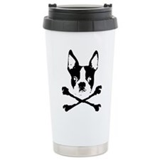 Cute Boston terrier Travel Mug
